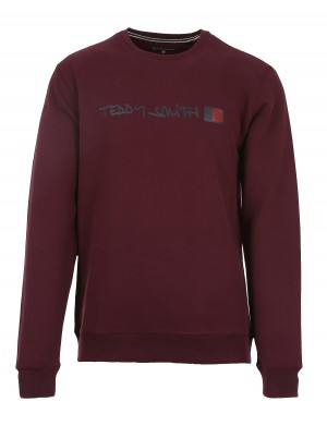 Sweat Strat homme rouge