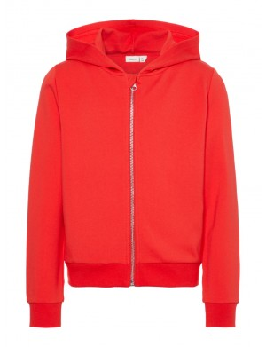 Cardigan fille rouge