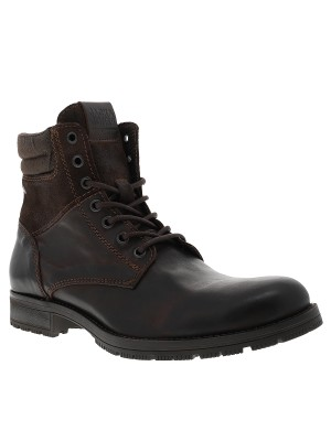 Boots ZACHARY homme marron