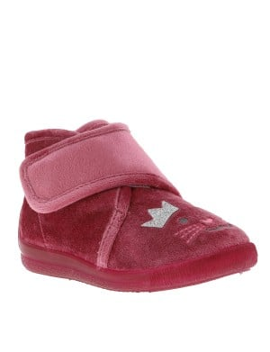 Chaussons fille violet