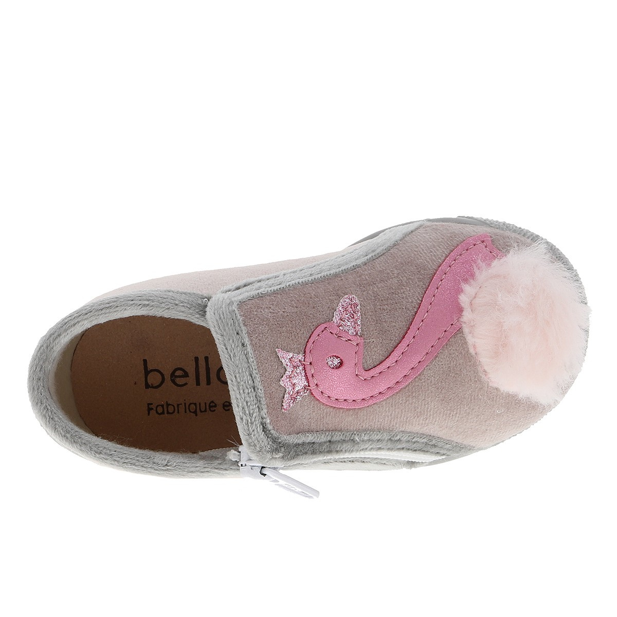 BELLAMY Chaussons KING fille beige