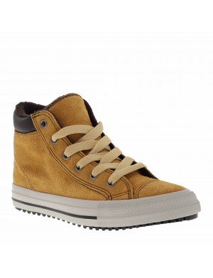 Baskets Chuck Tailor PC BOOT garçon marron