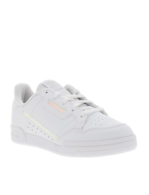 Baskets CONTINENTAL 80 fille blanc