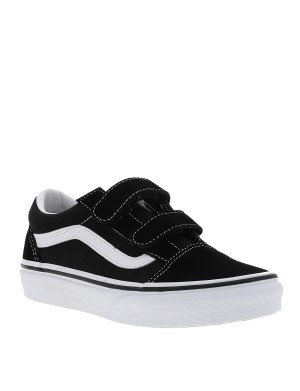 Baskets OLD SKOOL mixte enfant noir