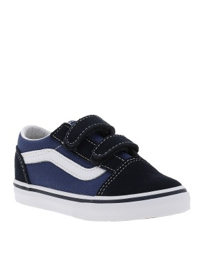 Baskets OLD SKOOL garçon bleu