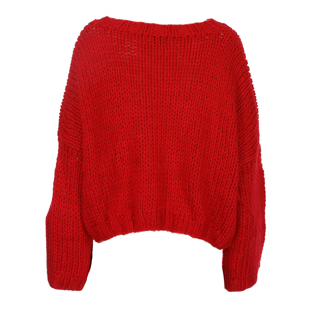 pull court femme rouge