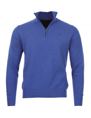 Pull Pago homme bleu