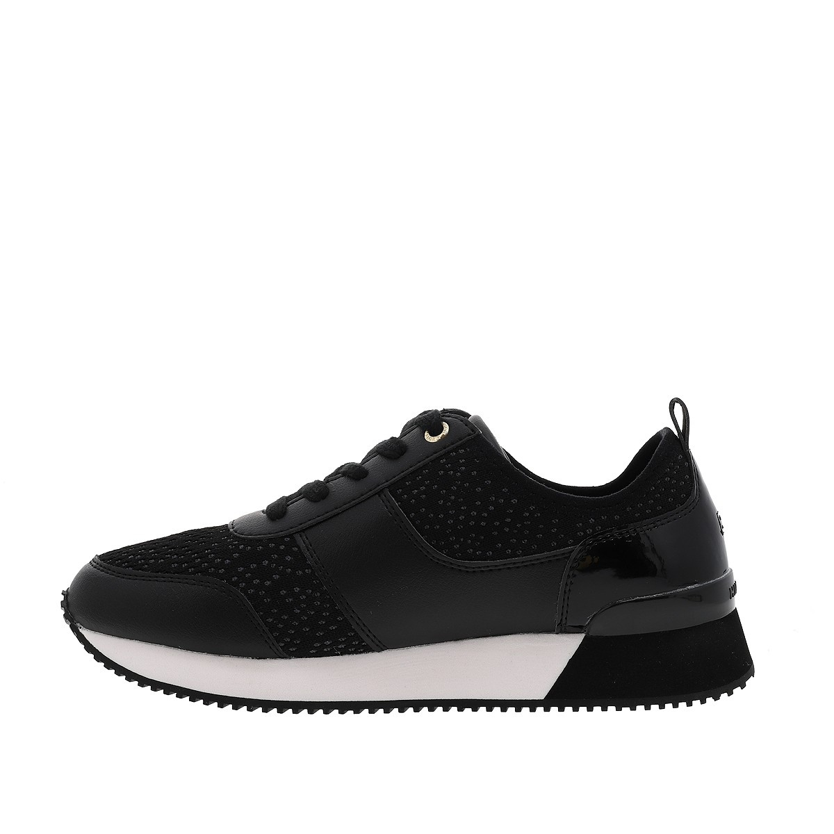 TOMMY JEANS Baskets CITY ICONIC femme noir
