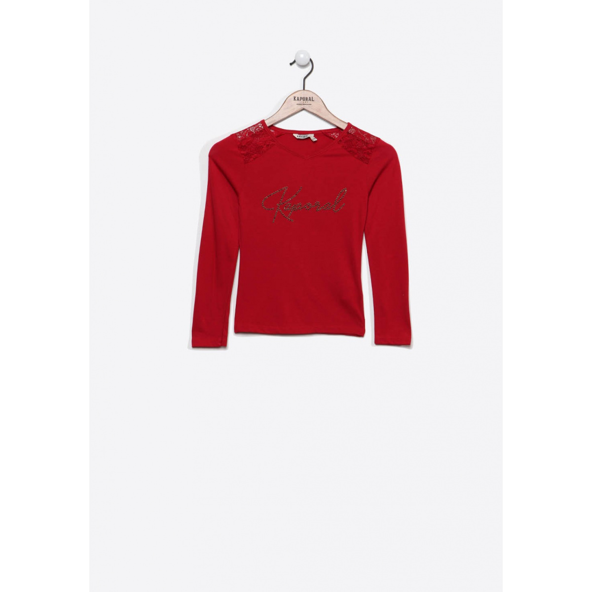 Buffalo pull fille manches longues