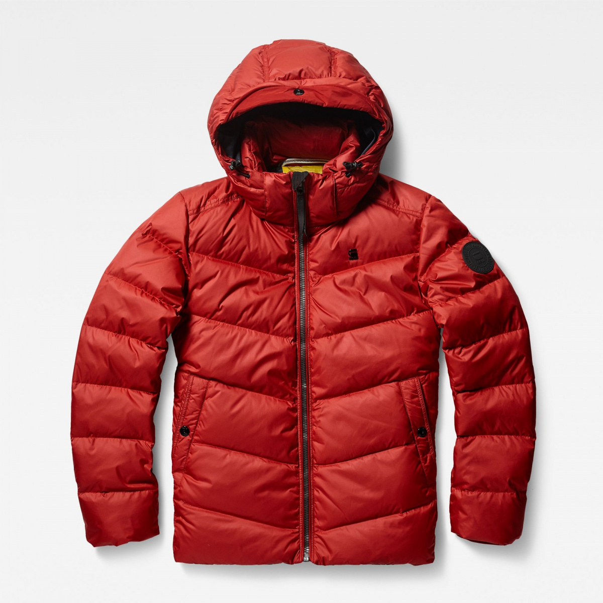 doudoune g star raw homme rouge