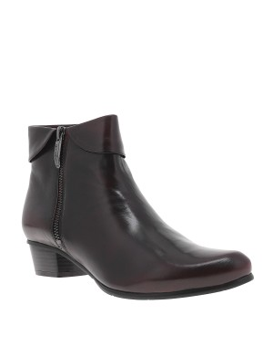 Boots Stephany femme rouge
