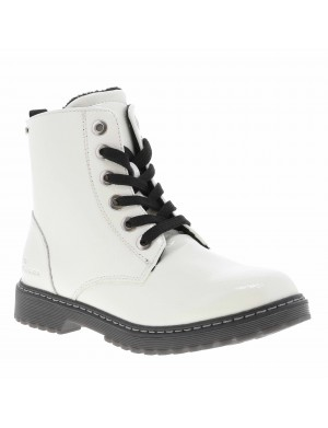 Boots fille blanc