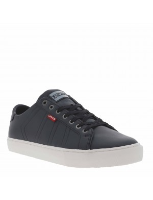 Baskets Woodward homme bleu