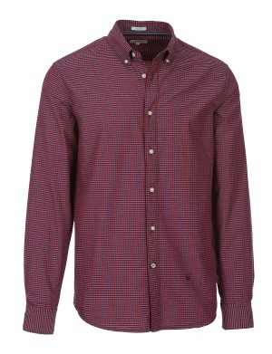 Chemise Neal homme rouge