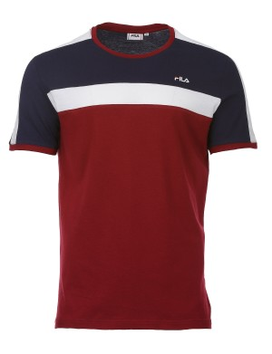 T-shirt Ana homme rouge