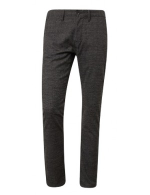 Chino homme gris