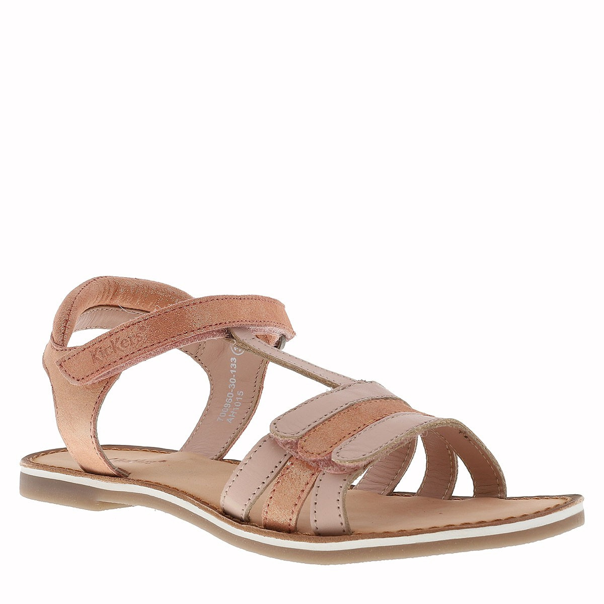 Chaussures Diamanto nu-pieds fille rose KICKERS
