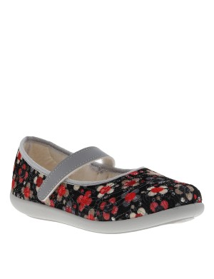 Chaussons fille multicolore