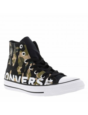 Baskets CHUCK TAILOR HI mixte camouflage