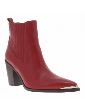 Boots AGUEDA femme rouge