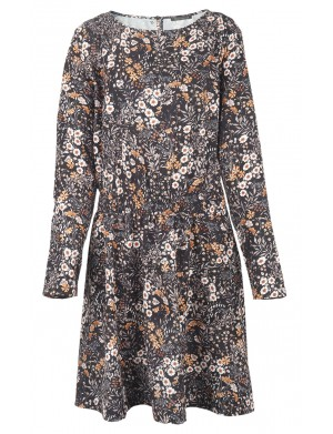 Robe manches longues femme multicolore