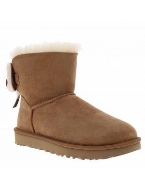 Boots cuir CLASSIC DOUBLE BOW MINI
