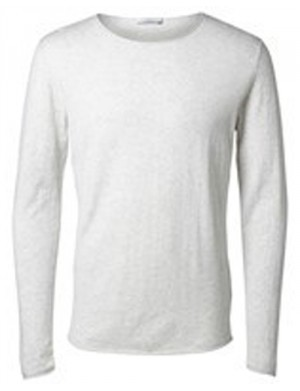 Pull homme blanc