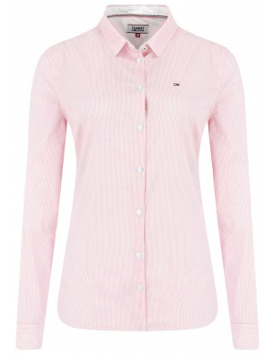 Chemisier manches longues femme rose