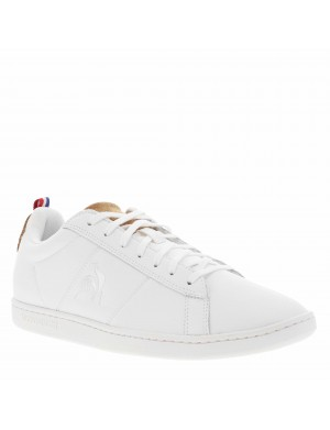 Baskets basses cuir COURT CLASSIC PRINTEMPS