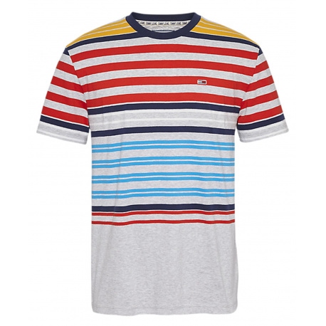 T-shirt homme gris TOMMY JEANS