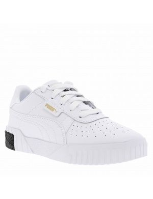 Baskets basses cuir fille CALI