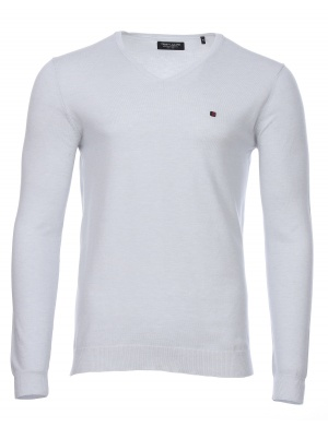 Pull PIKO col V homme