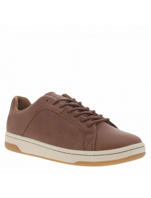 Baskets basses cuir POINT homme