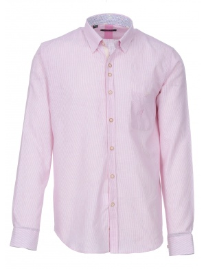 Chemise manches longues regular rayures tennis JARQUES homme