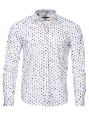 Chemise manches longues regular MORA homme