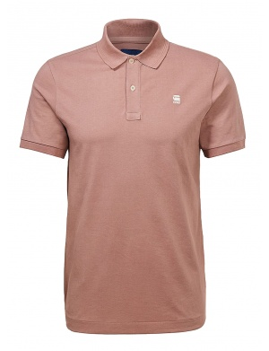 Polo manches courtes homme violet