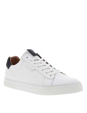 Baskets basses cuir SPARK CLAY homme