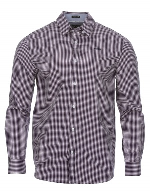 Chemise manches longues slim homme