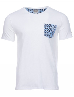 T-shirt manches courtes slim col rond homme