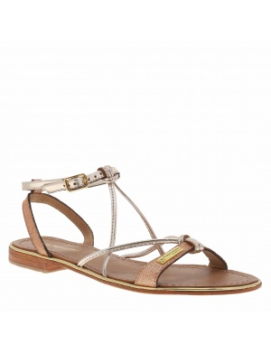 Chaussures nu-pieds cuir HIRONDEL femme