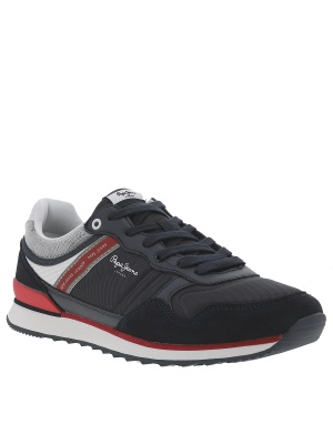 Baskets basses cuir homme CROSS 4