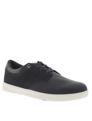 Baskets basses cuir homme
