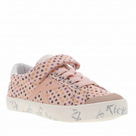 Baskets basses cuir GODY fille