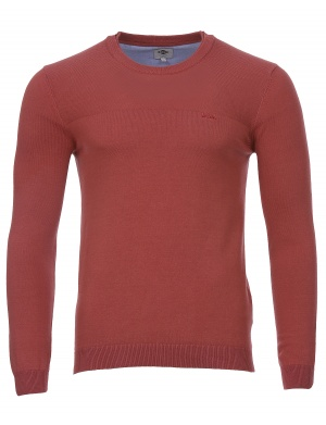 Pull col rond doublé CLUES homme