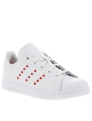 Baskets basses cuir STAN SMITH fille