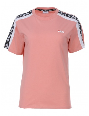 T-shirt manches courtes col rond femme