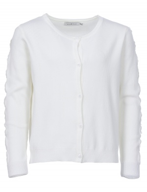 Cardigan manches longues fille