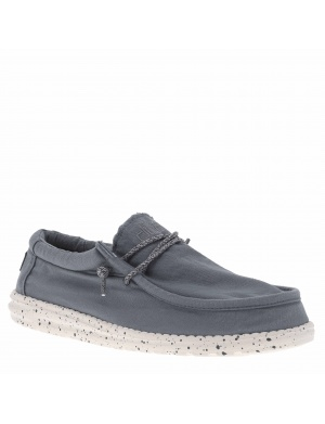 Baskets basses homme WALLY WASHED