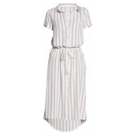 Robe manches courtes femme blanc DEELUXE
