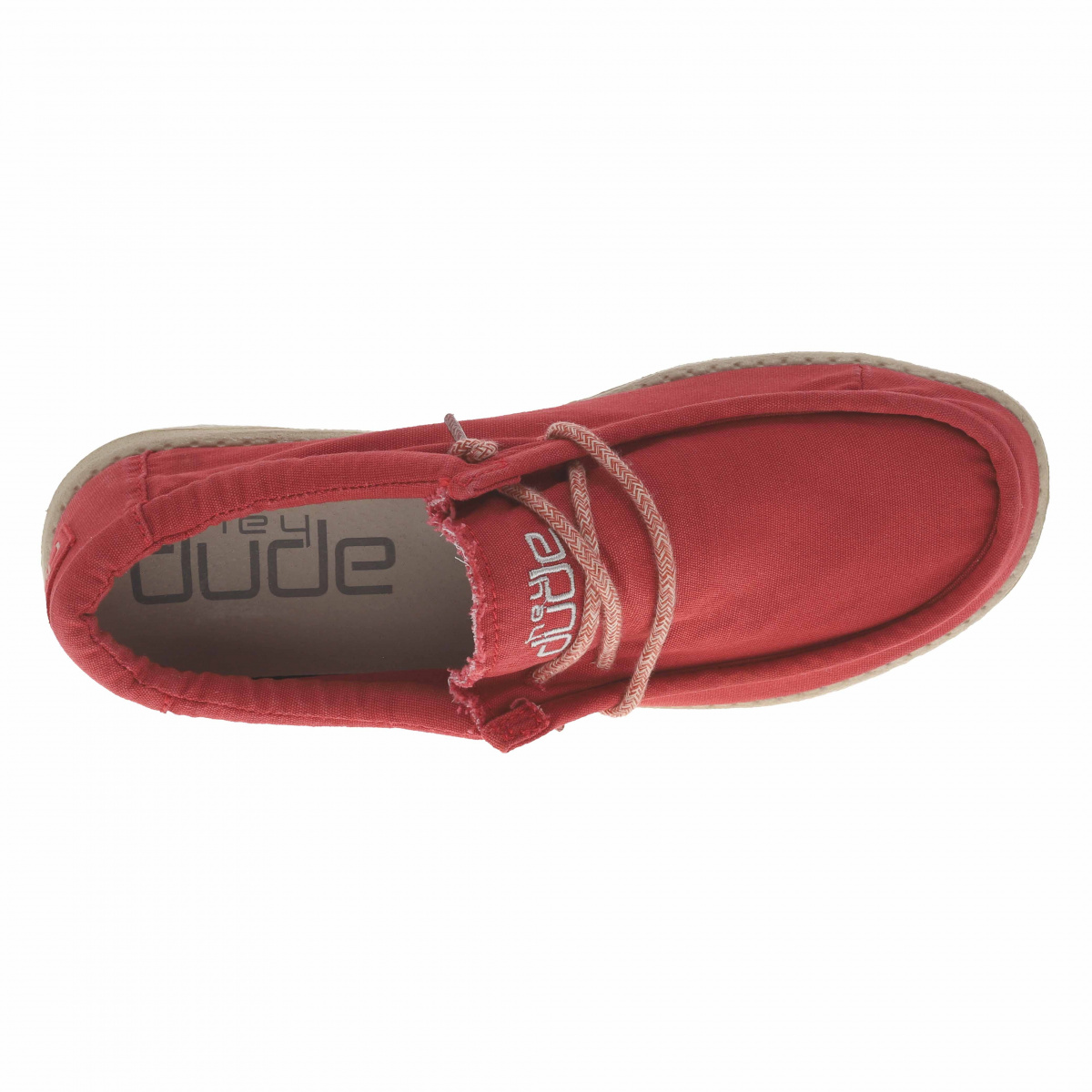 Baskets basses homme WALLY WASHED HEYDUDE
